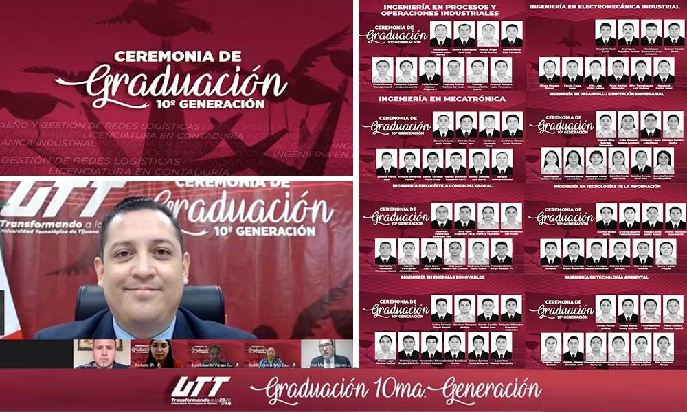 Egresa la Universidad Tecnológica de Tijuana a 538 nuevos Ingenieros