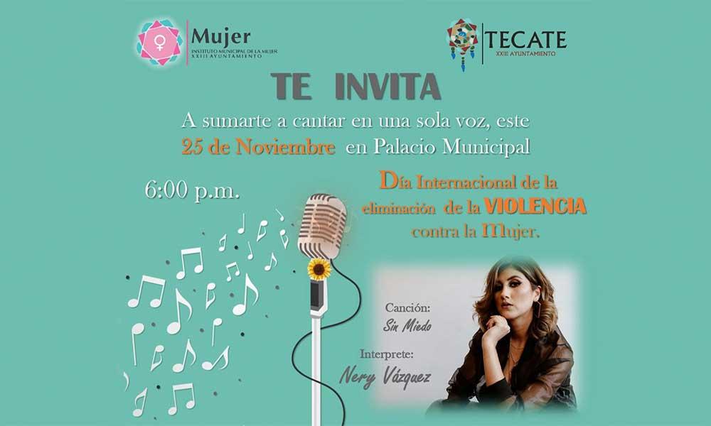 Invita IMMUJER Al Evento En Conmemoración Del Día Internacional De La Eliminación De La Violencia Contra La Mujer