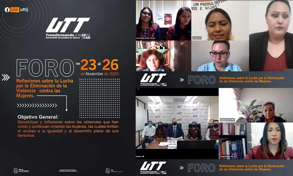 Un éxito foro sobre la prevención contra las violencias hacia las mujeres organizado por la UTT