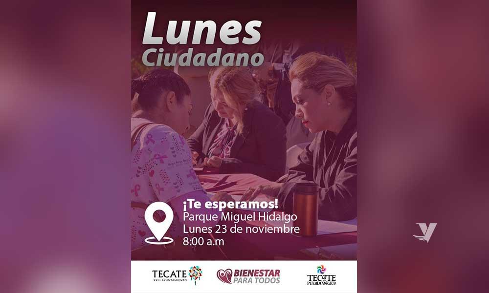 Invita Alcaldesa Zulema Adams Pereyra Al Lunes Ciudadano El Próximo 23 De Noviembre En Parque Miguel Hidalgo