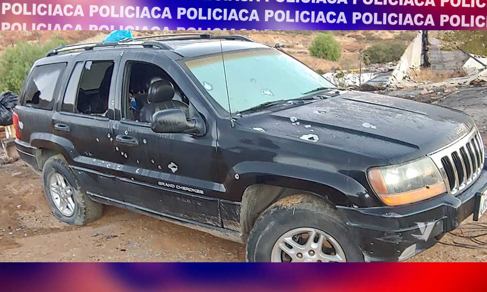 Localizan 5 cuerpos sin vida en Cerro Azul
