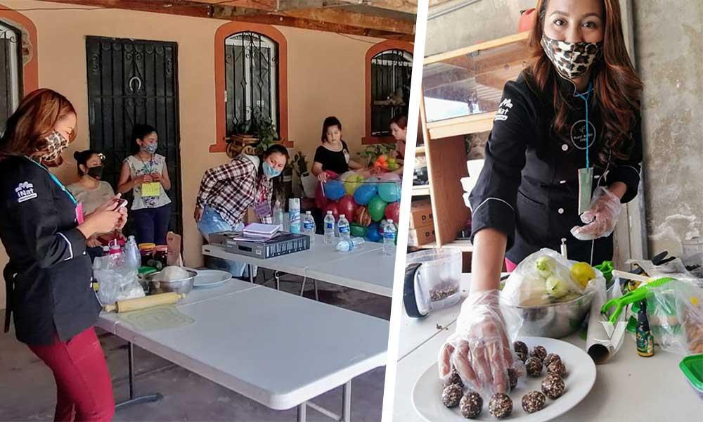 Imparte DIF Municipal Taller De Postres Nutritivos en Colonia Los Maestros