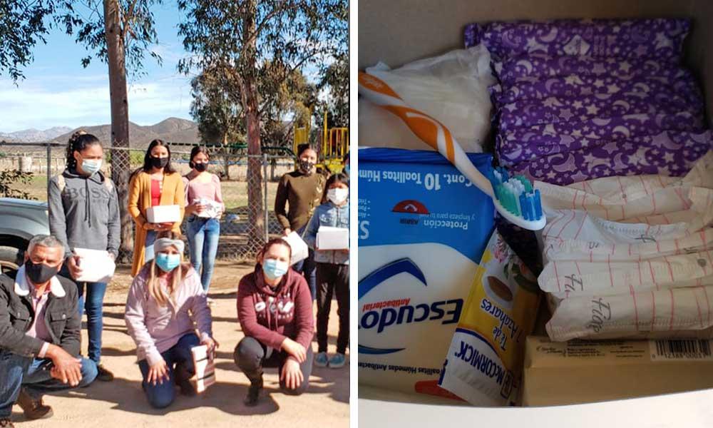 El Instituto Municipal de la Mujer realizó la entrega de kits menstruales a mujeres jóvenes en Delegación Carmen Serdán