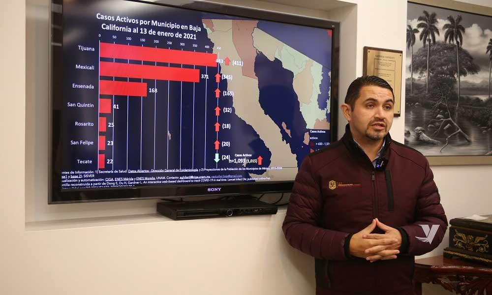 Se han aplicado 3 mil 417 vacunas contra COVID-19 a personal de salud en Baja California