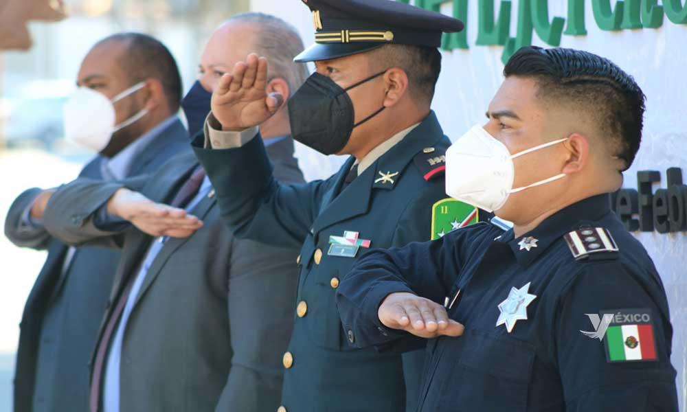 Conmemora el XXIII Ayuntamiento de Tecate el día del Ejército Mexicano