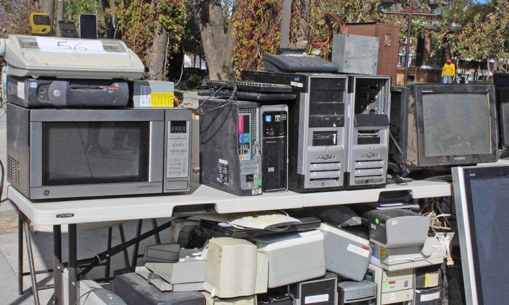"""Dio arranque alcaldesa, Olga Zulema Adams Pereyra, a """"campaña de acopio y reciclaje de aparatos electrónicos, electrodomésticos y línea blanca"""""""