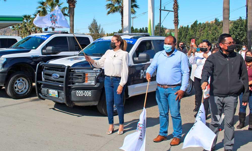 "Da arranque alcaldesa, Olga Zulema Adams Pereyra,  al operativo preventivo ""Semana Santa Segura 2021"" en el municipio"