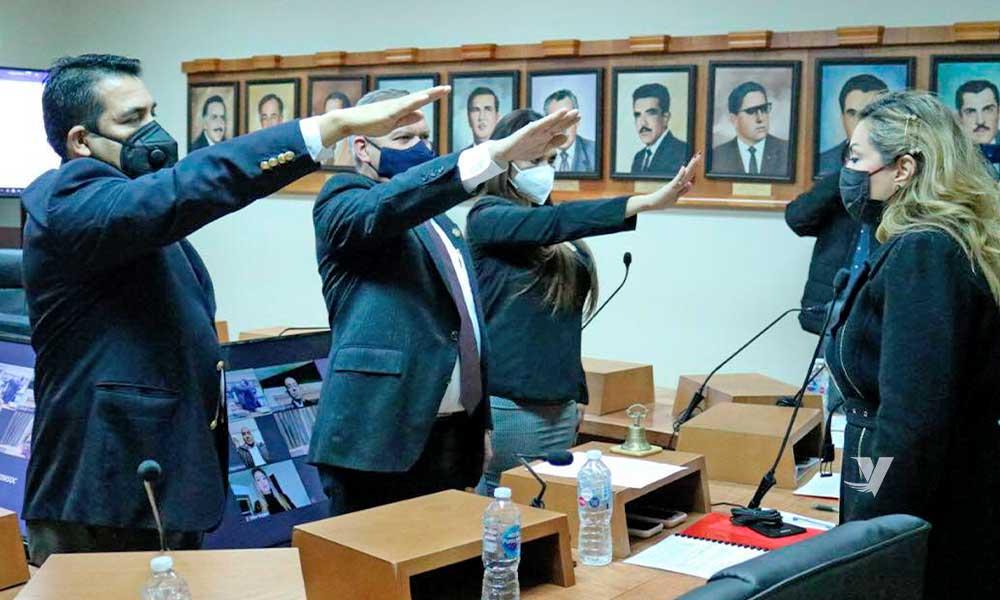 Realiza alcaldesa, Olga Zulema Adams Pereyra, toma de protesta a nuevo síndico procurador y regidores suplentes del XXIII Ayuntamiento de Tecate