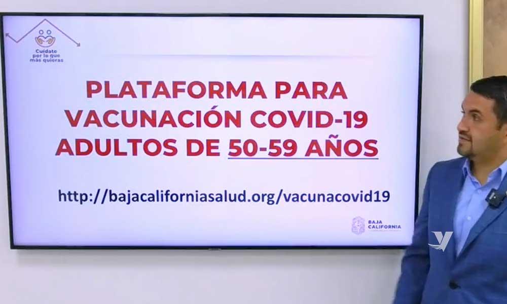 Vacunación contra COVID-19 en personas de 50 a 59 años en BC podría iniciar la primer semana de mayo: Secretaría de Salud