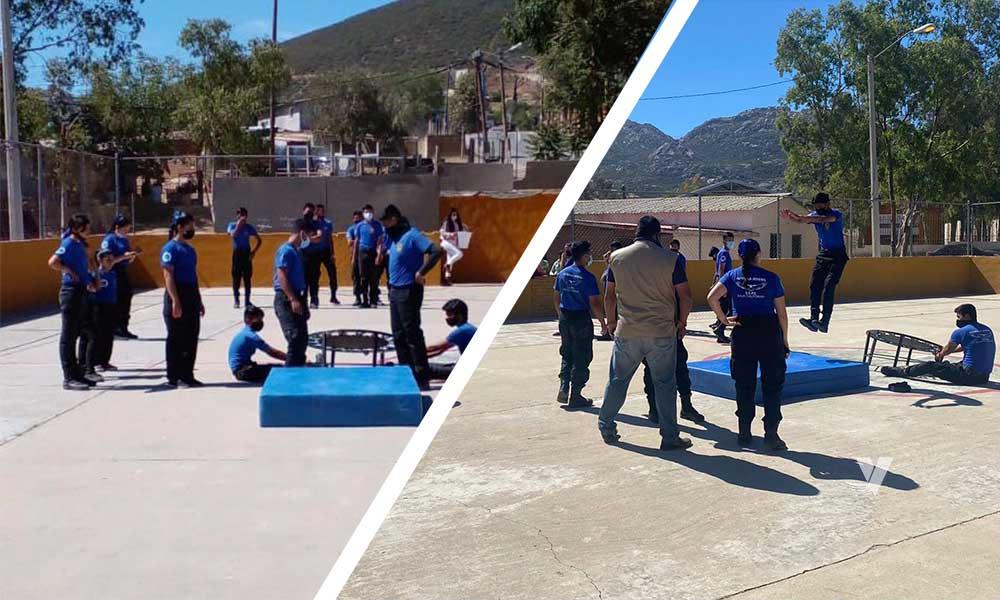 Arrancan con éxito entrenamientos de la Asociación Patrulla Juvenil en el municipio