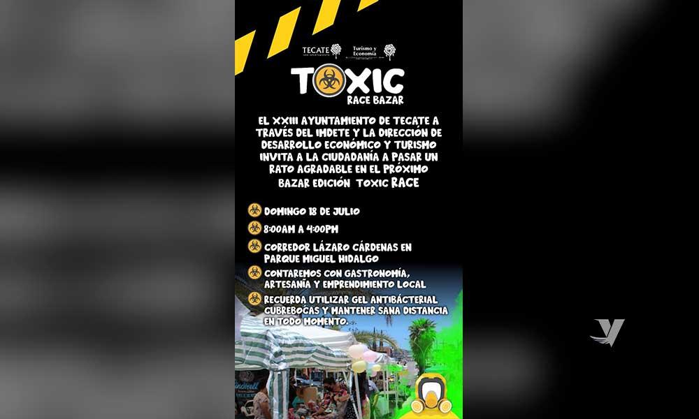 """Llevará a cabo Dirección de Desarrollo Económico y Turismo Bazar Edición """"Toxic Race"""", en corredor Lázaro Cárdenas"""