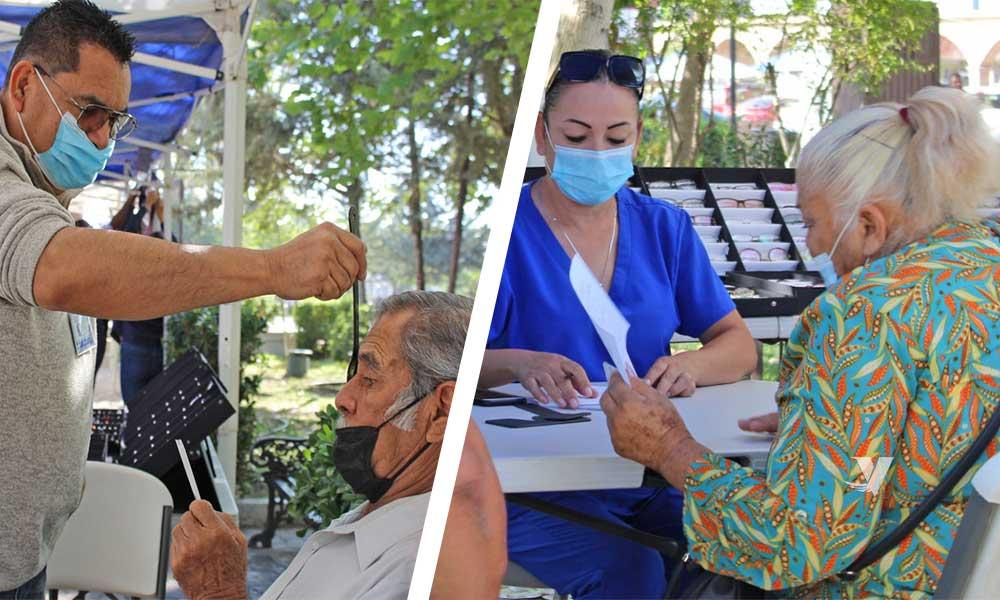Lleva a cabo DIF Municipal brigada asistencial de salud a personas de la tercera edad
