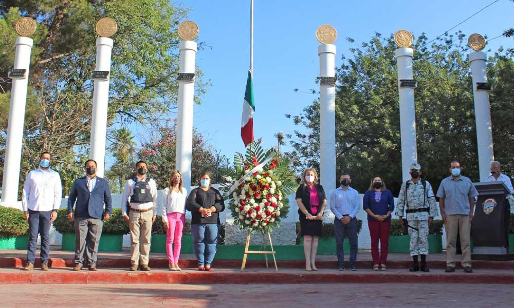 Conmemora el XXIII Ayuntamiento de Tecate el CLXXIV Aniversario de la Gesta Heroica de Chapultepec