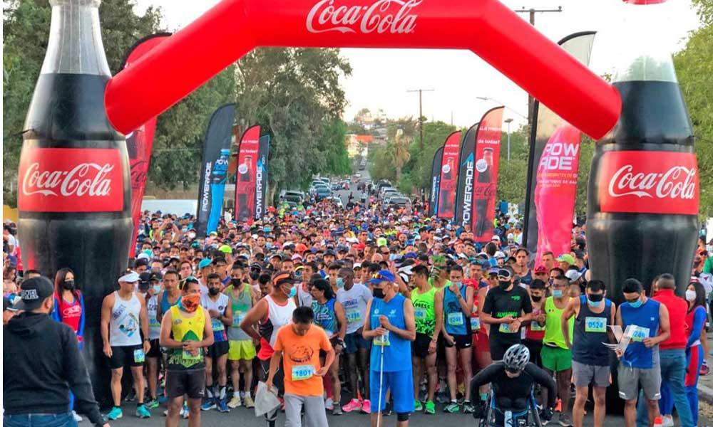 Realiza IMDETE Medio Maratón Internacional 2021